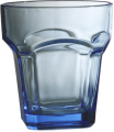 Blue stackable glass (270 ml / 9.5 oz)