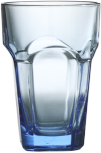 Blue stackable glass (300 ml / 10.75 oz)